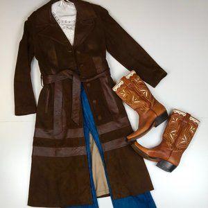 New England Sportswear Company leather coat